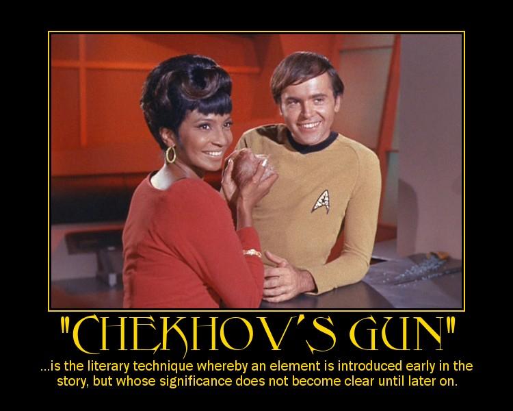 Chekhov Gun Quote What 39 s a Chekhov 39 s Gun