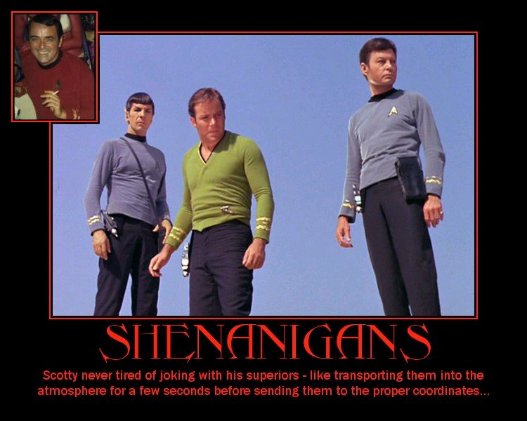Star Trek Inspirational Posters By Gary