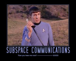 Subspace Communications --- 'Can you hear me now? ---------- GOOD!'