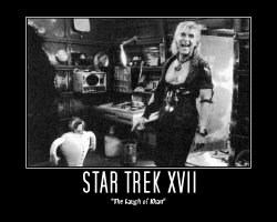 Star Trek XVII --- 'The Laugh of Khan'