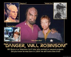'Danger, Will Robinson!' --- Bill Mumy is a Television Sci-fi star who worked on several projects. Did you know he was born in 1954! He still looks like a kid!
