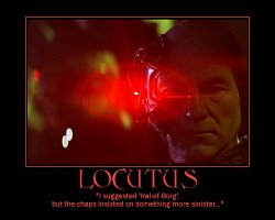 Locutus --- I suggested 'Hal-of-Borg', but the chaps insisted on something more sinister...