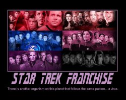 Star Trek Franchise --- There is another organism on this planet that follows the same pattern... a virus.